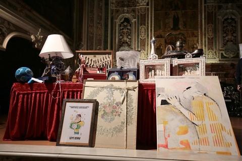 Museo Diocesano Napoli.Asta Di Beneficenza Del Cardinale Sepe Al Museo Diocesiano Di Napoli
