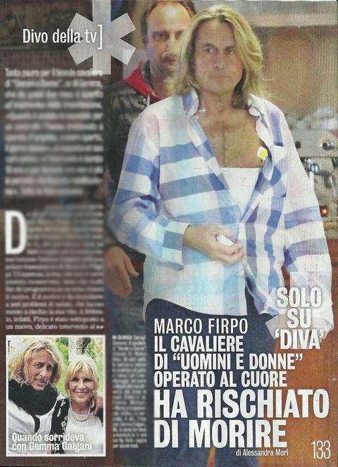 Marco firpo il cavaliere di uomini e donne dopo l - Diva e donne gossip ...