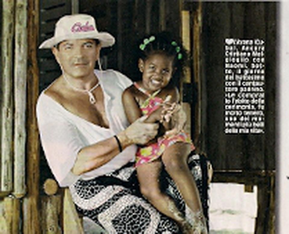 Cristiano malgioglio e la sua famiglia cubana foto diva for La sua e la sua costruzione